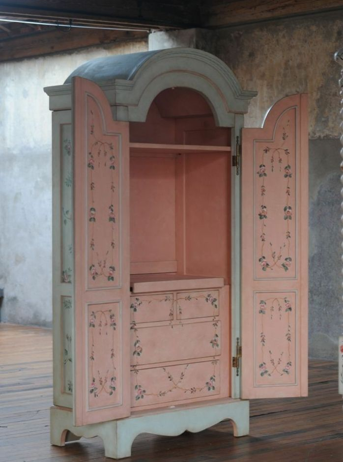 1001 Idees Pour Relooker Une Armoire Ancienne Meubles Shabby