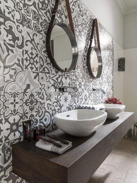 Tile of spain porcelanosa barcelona spanish tile at for Bathroom tiles spain