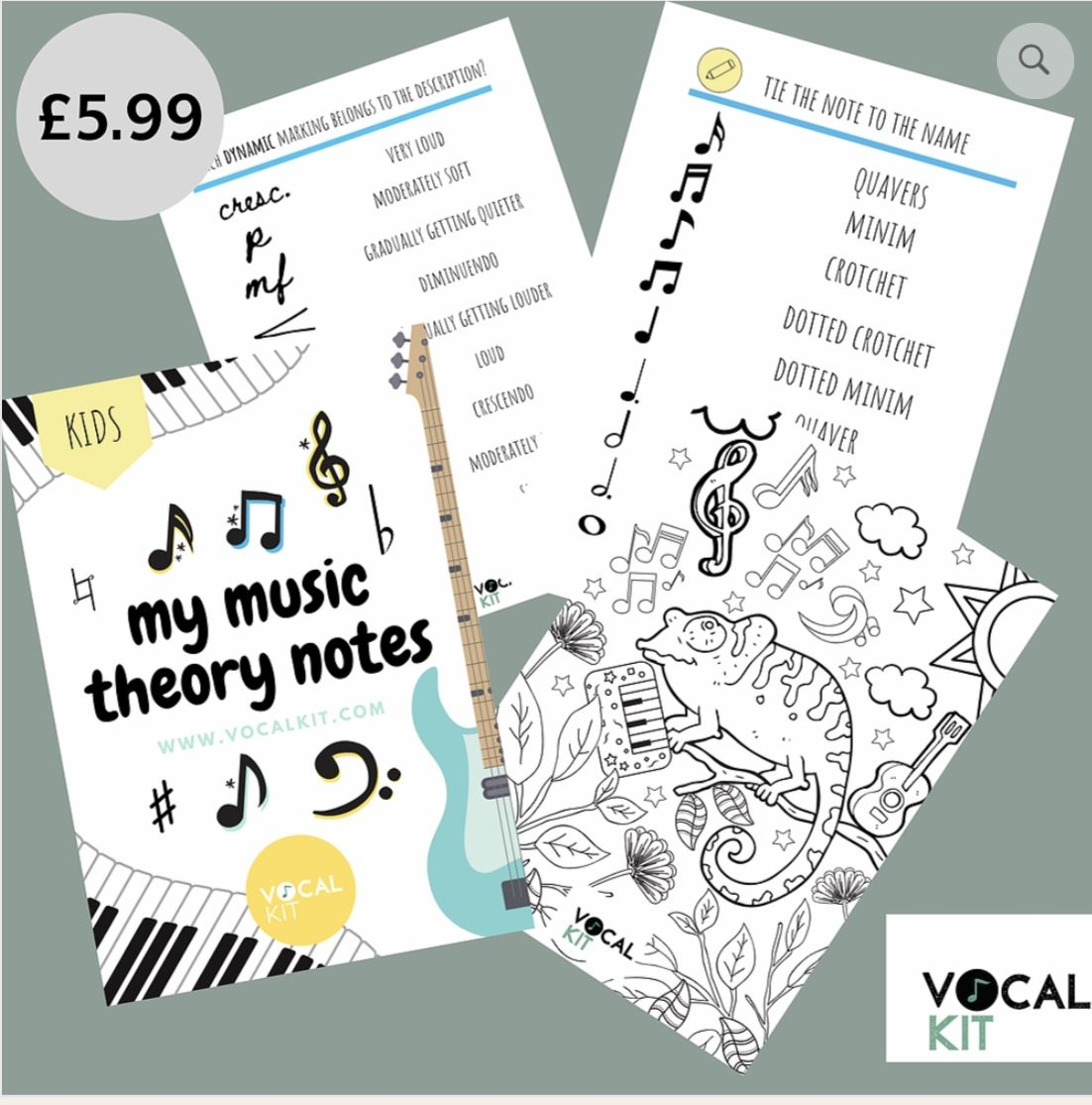 Beginner Music Theory Worksheets In