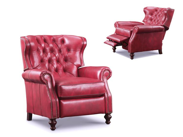 wing chair recliner leather chronicles of narnia the silver tufted by wellington s