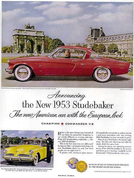 Studebaker 1953 Starliner