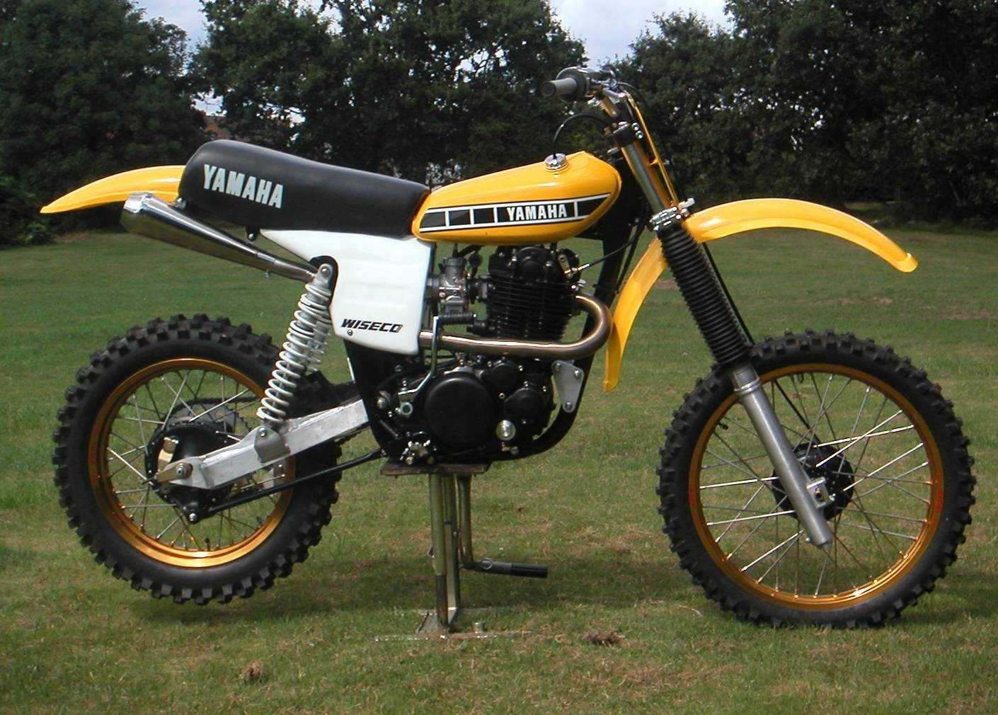 Was and motocross vintage yamaha