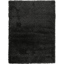 benuta Hochflor Shaggyteppich Sophie Anthrazit 300x400 cm - Langflor Teppich für Wohnzimmer benuta