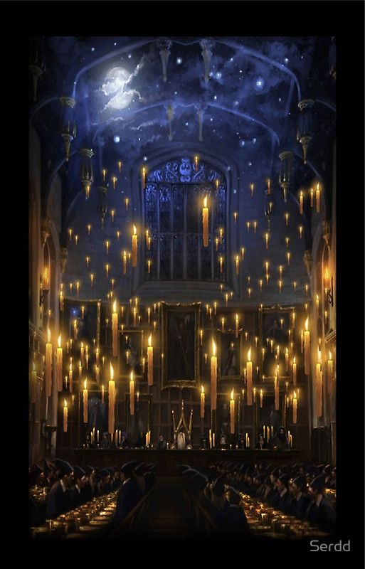 Hogwarts Great Hall By Serdd Harry Potter Wallpaper Harry