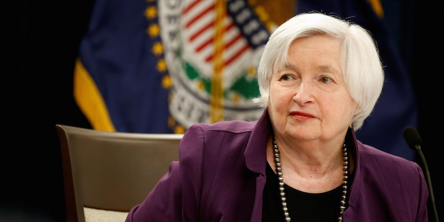 Janet Yellen Is Disappointed She Didn T Get A Second Term As Fed Chair Balance Sheet Janet Yellen Return To Work