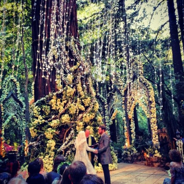 Facebook Billionaire Sean Parker S Wedding In Sur