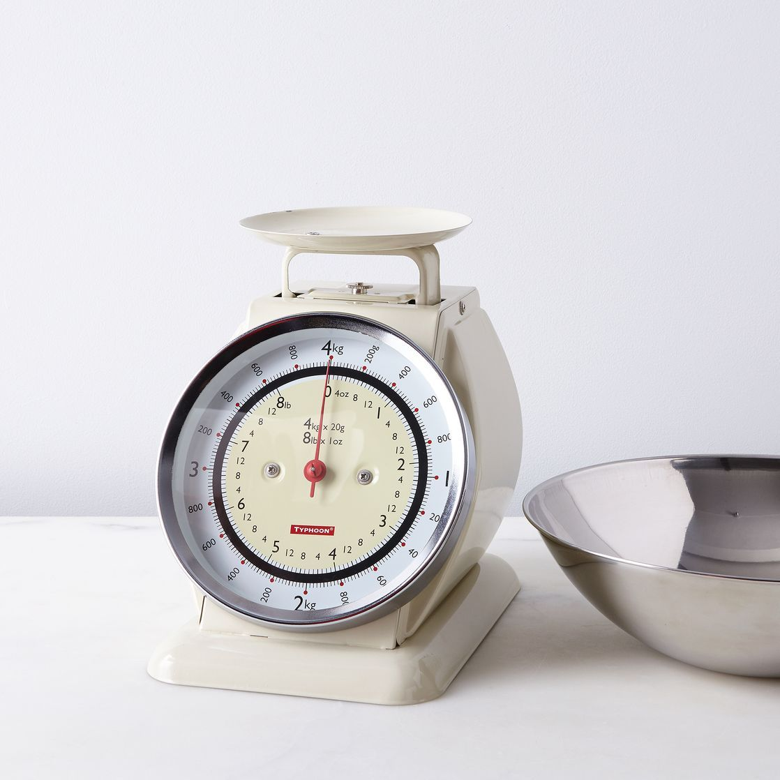 Vintage Style Kitchen Scale With Removable Bowl With Images