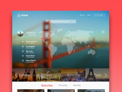 Airbnb Redesign Web Design Web Layout Design Website Trends