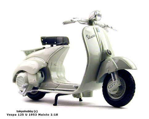 vespa | Vespa 125U 1953 125 U 1 18 Maisto Very RARE | eBay