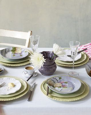 Vietri Hydrangea Dinnerware and Accents & Vietri Hydrangea Dinnerware and Accents | Weddings and Bridal ...