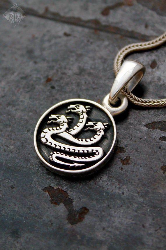 Lex /& Lu LogoArt Sterling Silver w//GP Navy XL Enamel Pendant