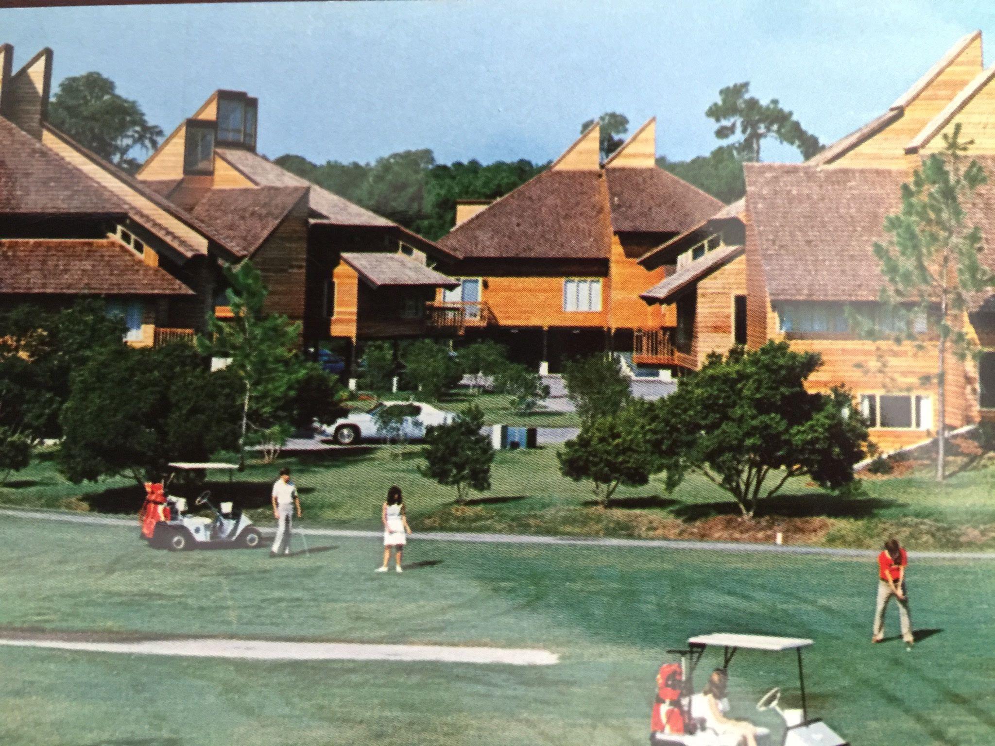 Walt Disney World's Fairway Villas now known as Saratoga