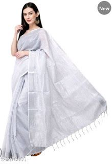 Saree : Linen saree : Starting₹1095/- Free COD WhatsApp +919199626046