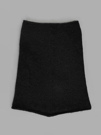 ISABEL BENENATO Isabel Benenato Women'S Black Yak Collar. #isabelbenenato #scarves