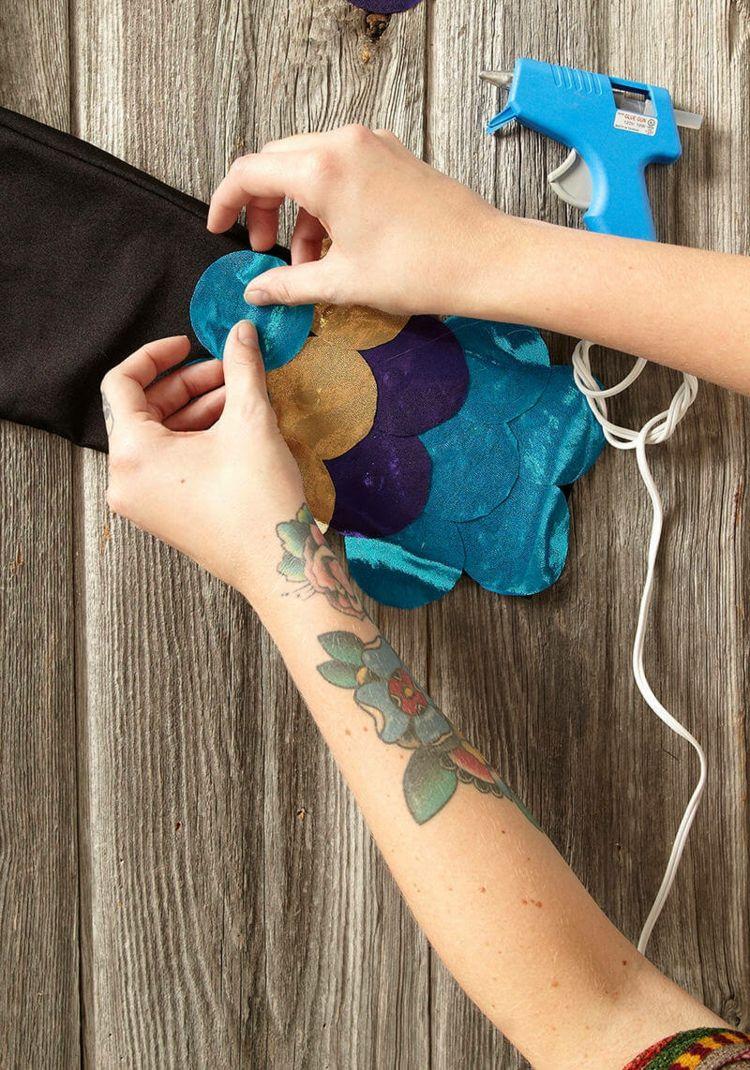stoff-glitzer-hose-selber-basteln-kostüm | Kostüme nähen | Pinterest ...