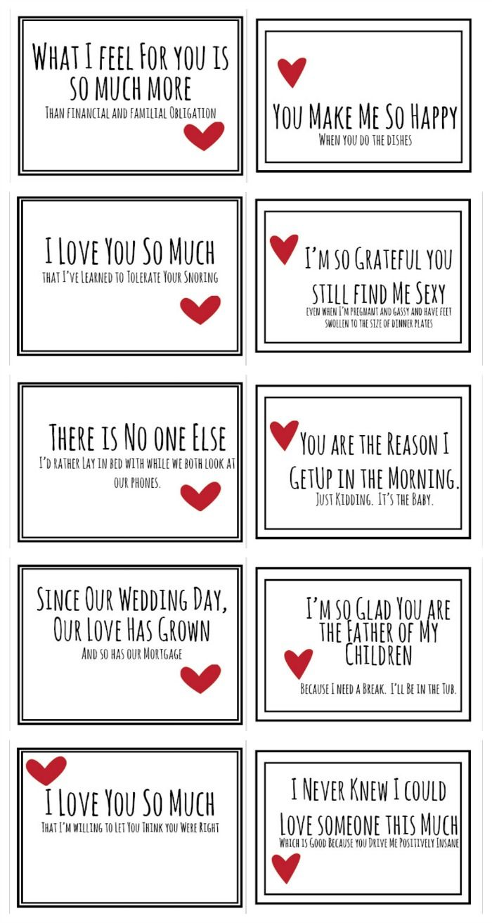 realist valentines for your husband  free pdf