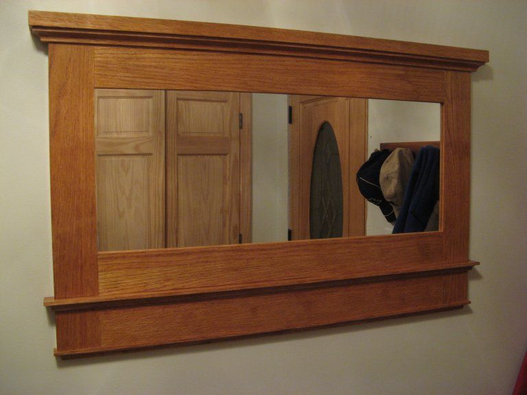 How To Make This Craftsman Mirror Frame