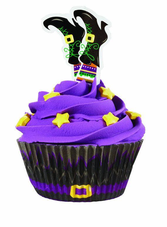 Wilton Halloween Witch Cupcake Liners by Everythingcupcakess