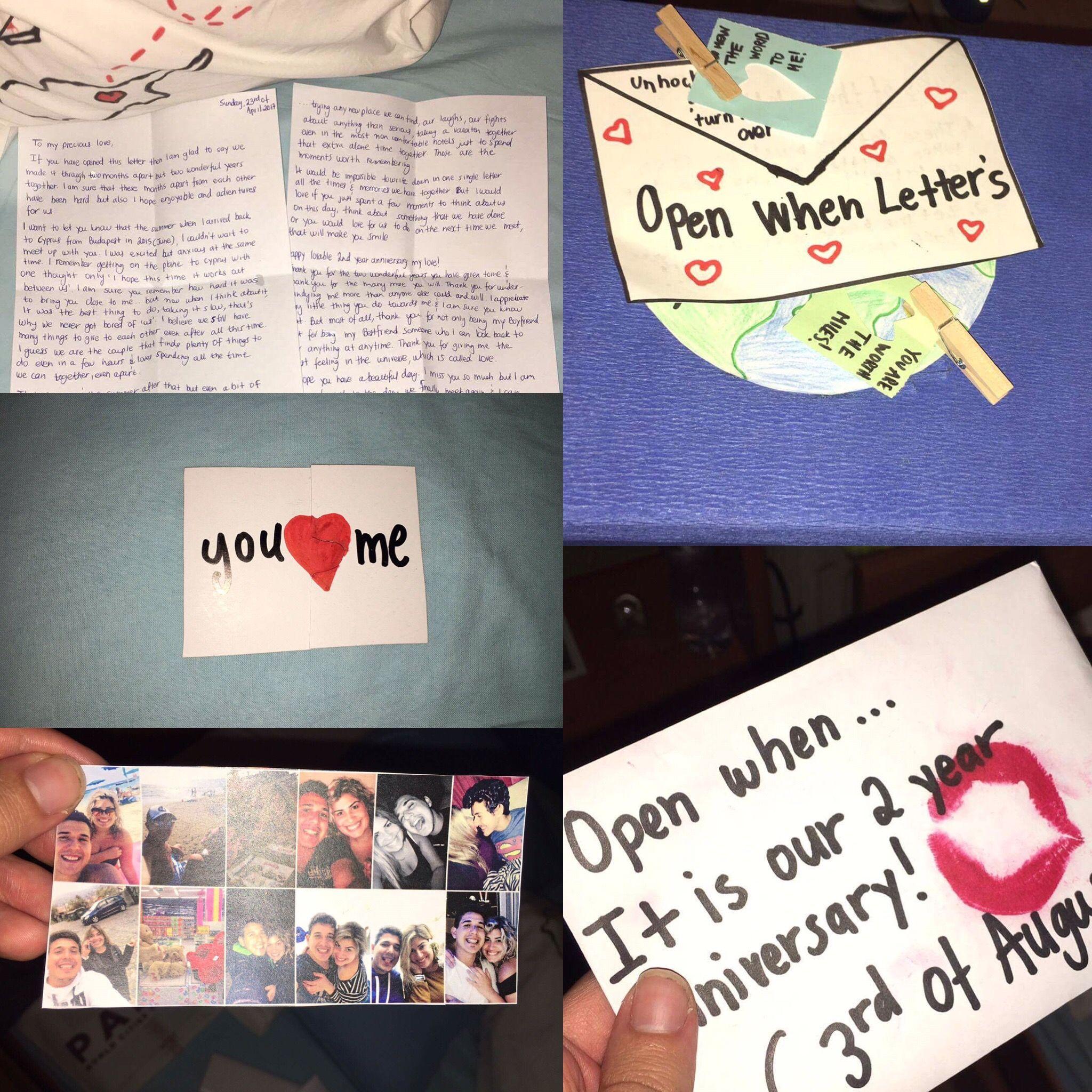2 year anniversary creation gift for my boyfriend ️ Open