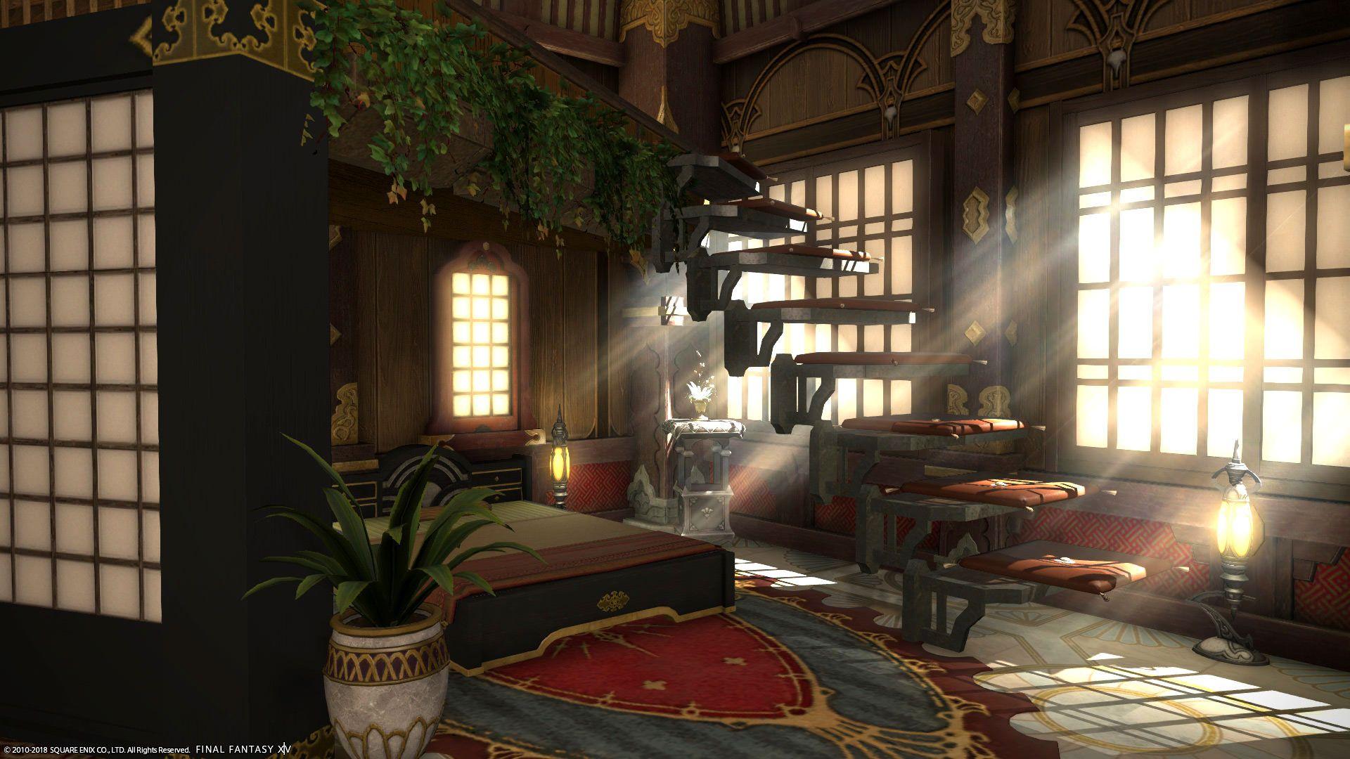 My ffxiv apartment fantasy house home decor small