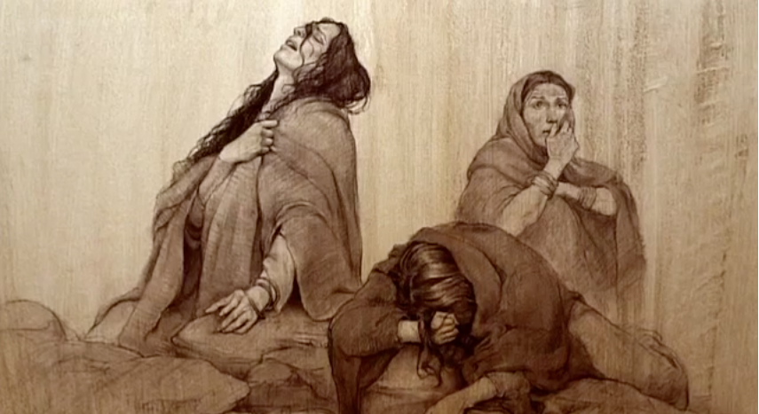 Mourning For Ishmael Artwork By Joseph Brickey Mormon StoriesBook