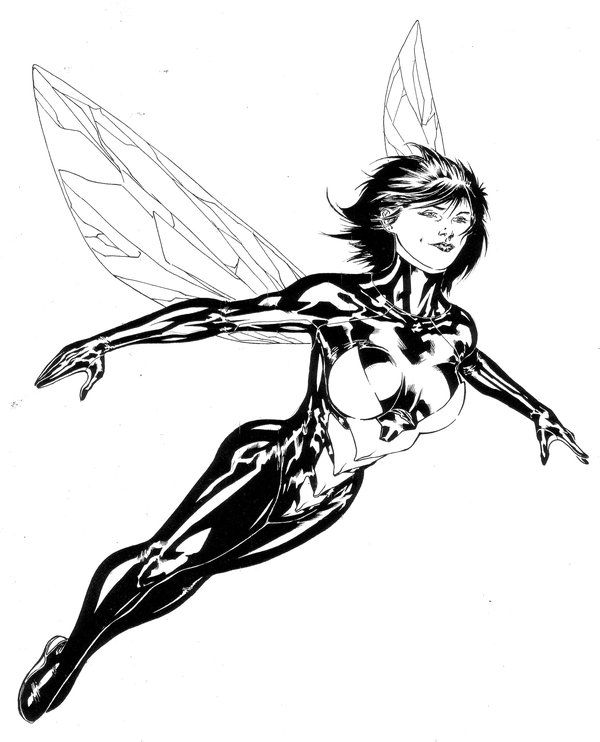 Janet Van Dyne Aka The Wasp By Spiderguile Marvel Wasp Wasp