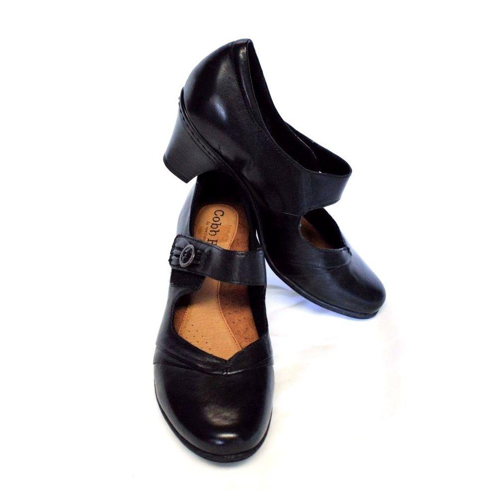 ef5f0cbe024d NEW Cobb Hill New Balance Salma Mary Jane Shoes 10 41.5W Black Leather  Career