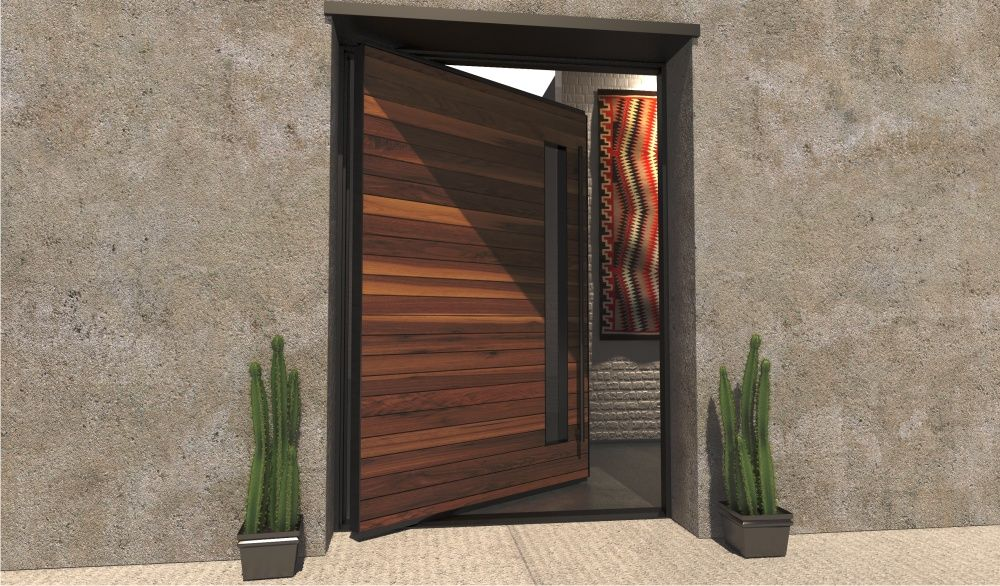 Custom Steel & Glass Doors For Luxury Homes