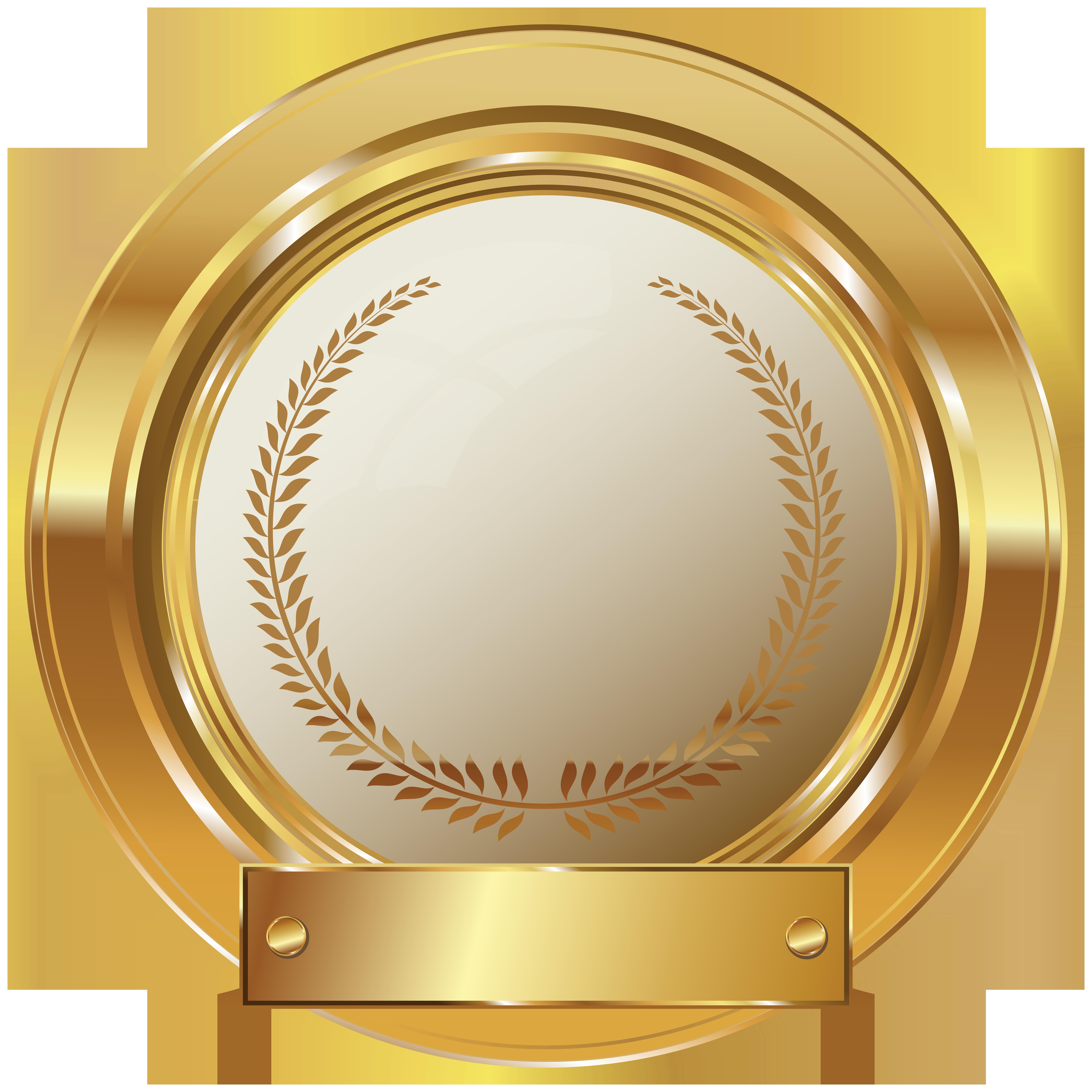 Gold Seal PNG Clip Art Image Clip art, Art logo, Clip