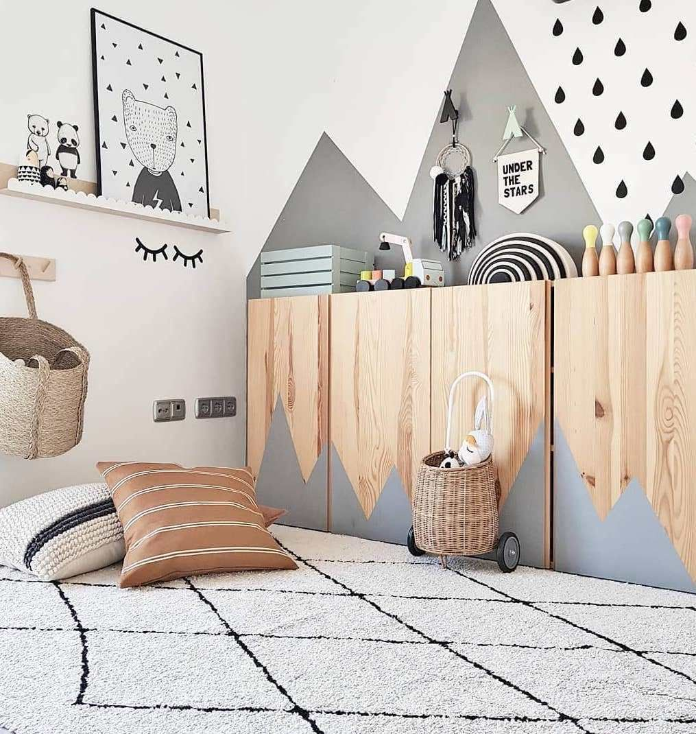 Ikea Hack Ivar Inspirations Et Astcues Deco Clem Around The Corner Decoration Chambre Bebe Ikea Chambre Enfant Chambre Enfant Scandinave