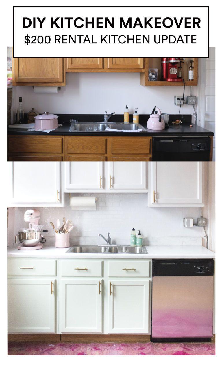 Budget Friendly Kitchen Update   Kitchen updates, Budgeting and Kitchens