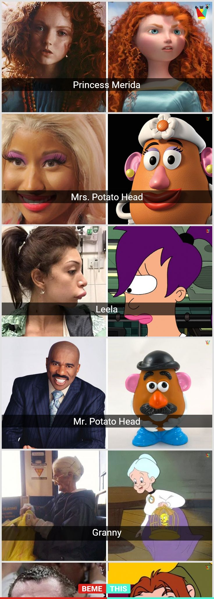 10+ People Who look Assuredly Like Famous Cartoon ...