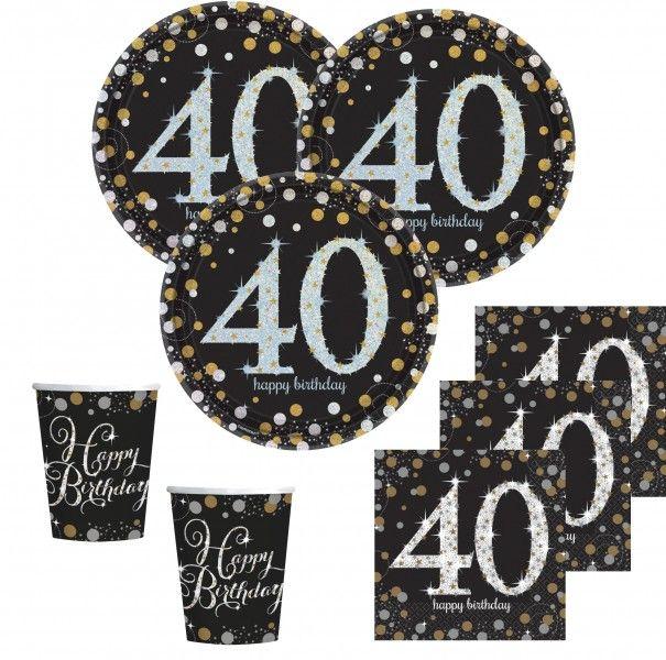 40 Geburtstag Deko In 2020 Abschlusspartys Geburtstag