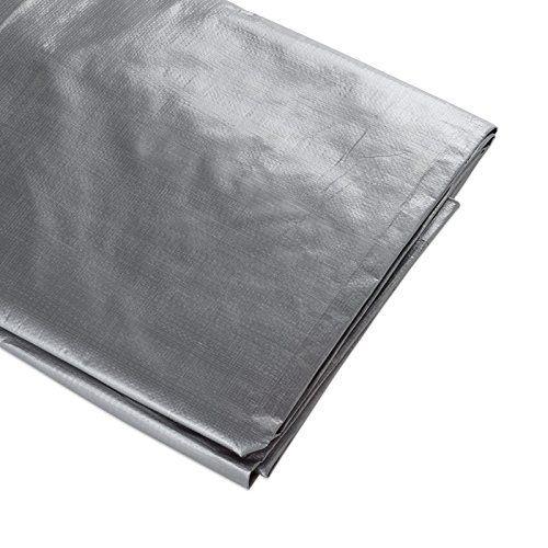 Ate Pro Usa 96067 Heavy Duty Tarpaulin 15 By 30 Feet Silver Ate Pro Usa Tarpaulin Steel Metal Waterproof Tarp