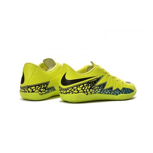 Nike Hypervenom Phelon Ii Ic Fussballschuhe Gelb Schwarz