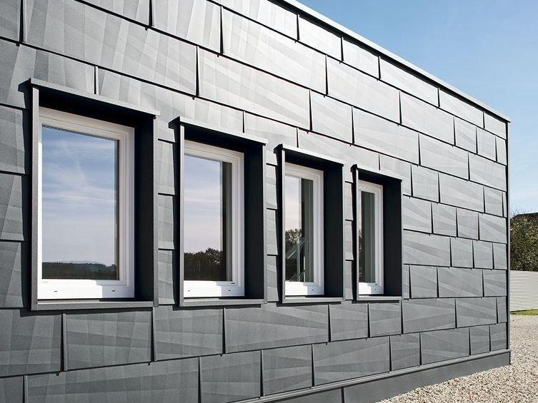 Metal Sheet And Panel For Roof Metal Sheet And Panel For Facade Fx 12 Sistema Per Copertura E Facciata By Prefa Italia Facciata Tetto Alluminio