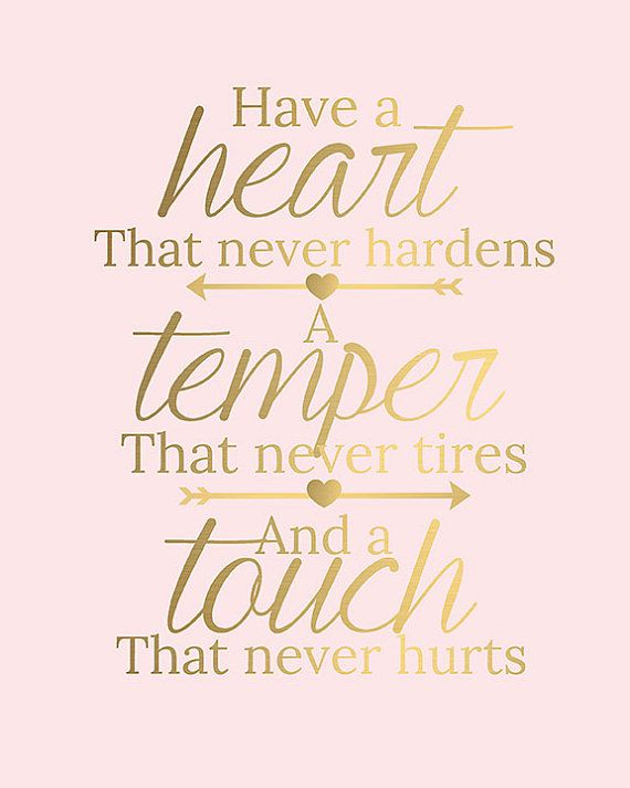 Pink And Gold Typography Inspirational Quote By Liviloudesigns