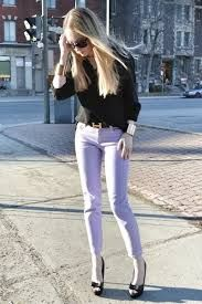 Purple wear what jeans with light to Color Crush