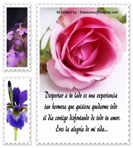 Mensajes De Buenos Días Para Tu Pareja | Frases De Buen Dia A mi Amor |  Frasesmuybonitas.net