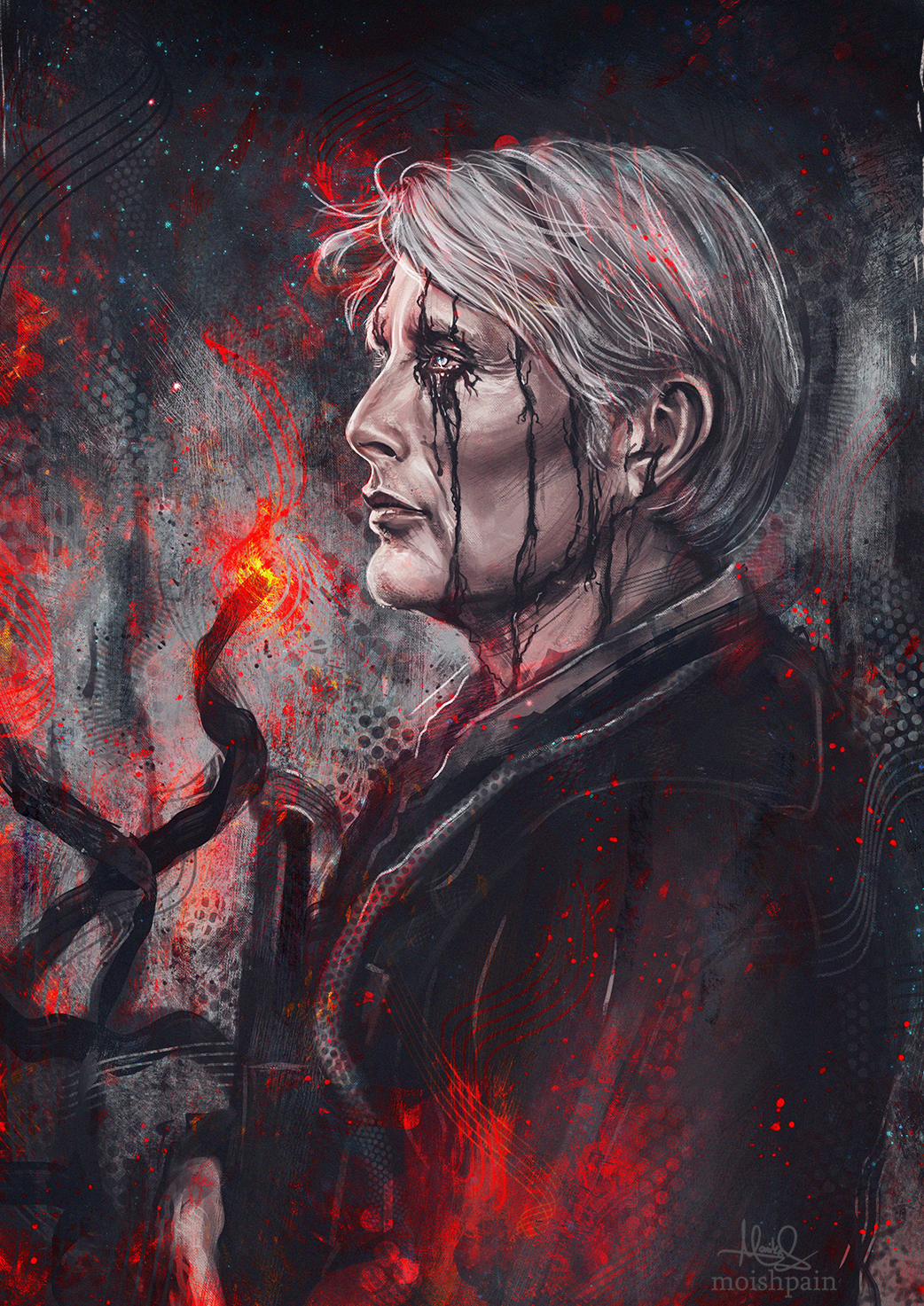 Mads in D.S. Pictures to draw, Life paint, Metal gear rising
