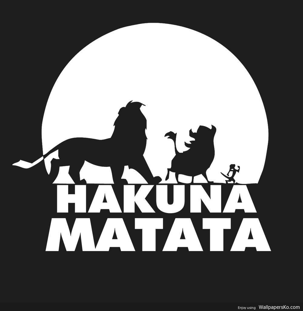 Hakuna Matata Pic Http Wallpapersko Com Hakuna Matata Pic Html Hd Wallpapers Download Lion King Drawings Hakuna Matata Hakuna