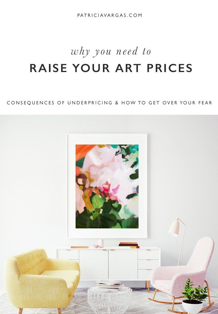 You need to raise your art prices Art pricing, Selling