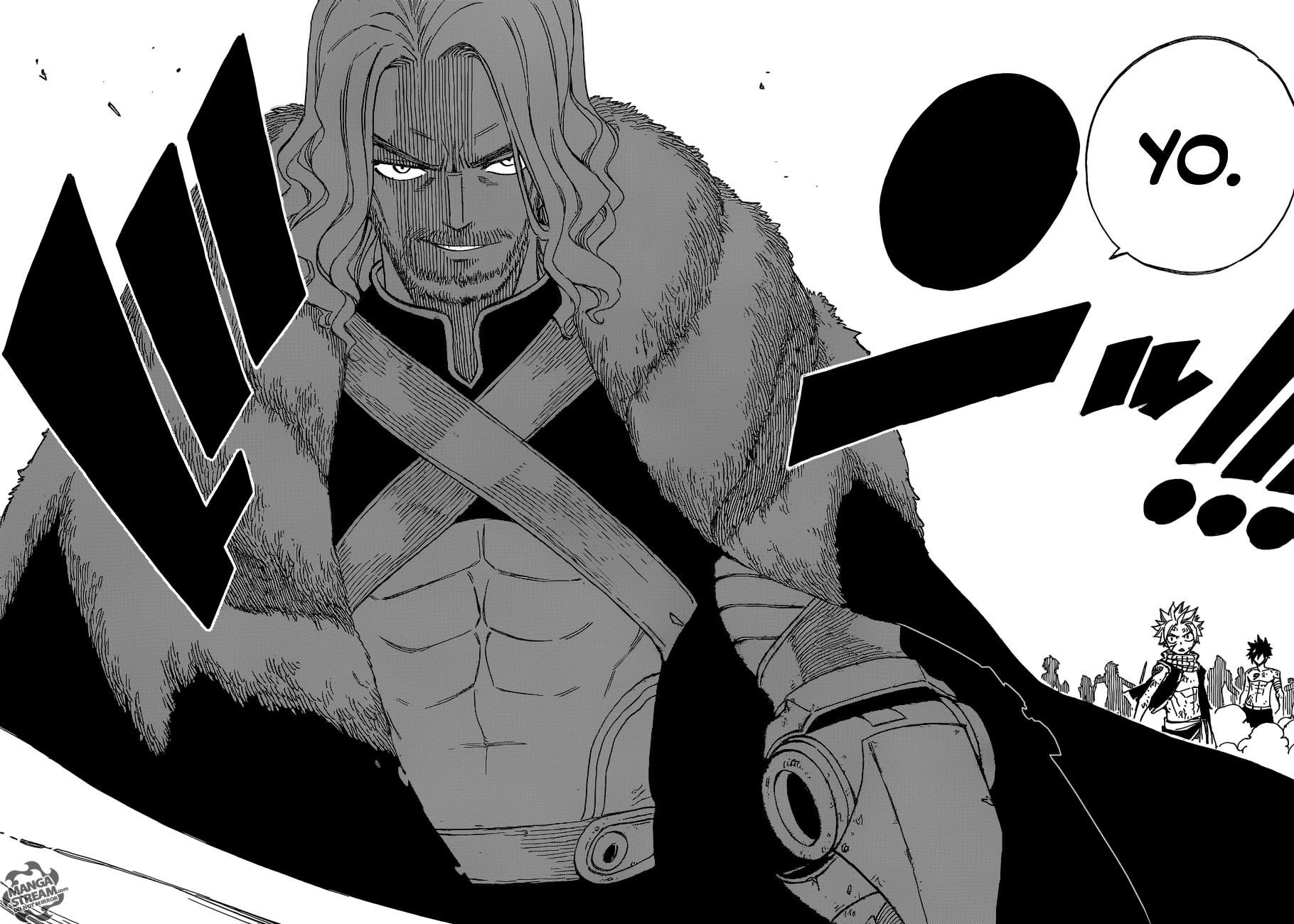 Read manga Fairy Tail 495 - I'm Hungry as Hell! online in high quality