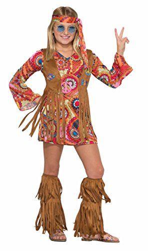 Amazon.com Forum Novelties Kids Peace Lovin Hippie Costume Multicolor Large Toys u0026 Games  sc 1 st  Pinterest & Forum Novelties Kids Peace Lovin Hippie Costume Multicol... https ...