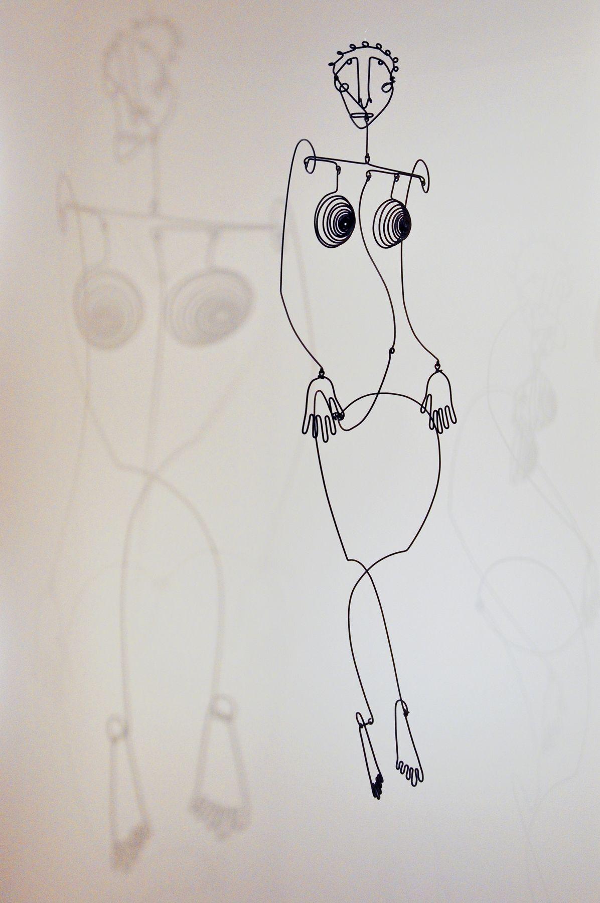 Calder Wire Sculpture   wire sculpture by Alexander Calder, National ...