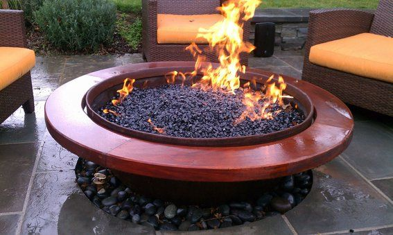 Outdoor Gas Fire Pit Gas Fire Pits Outdoor Gas Firepit Natural