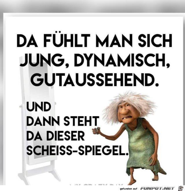 lustiges Bild 'Scheiß Spiegel.jpg' von Reikru. Eine von 11217 Dateien i… #funnypictures