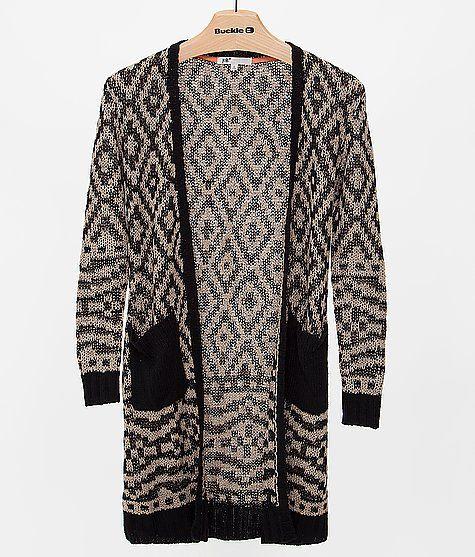 b66d2e3947 Jolt Southwestern Cardigan Sweater
