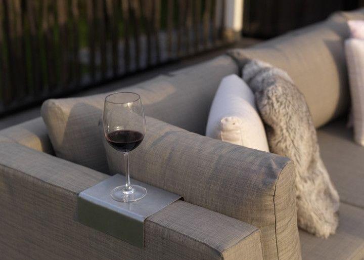 IBIZA Garten Loungegruppe Textilene Taupe #garten #gartenmöbel - rattan gartenmobel gunstig