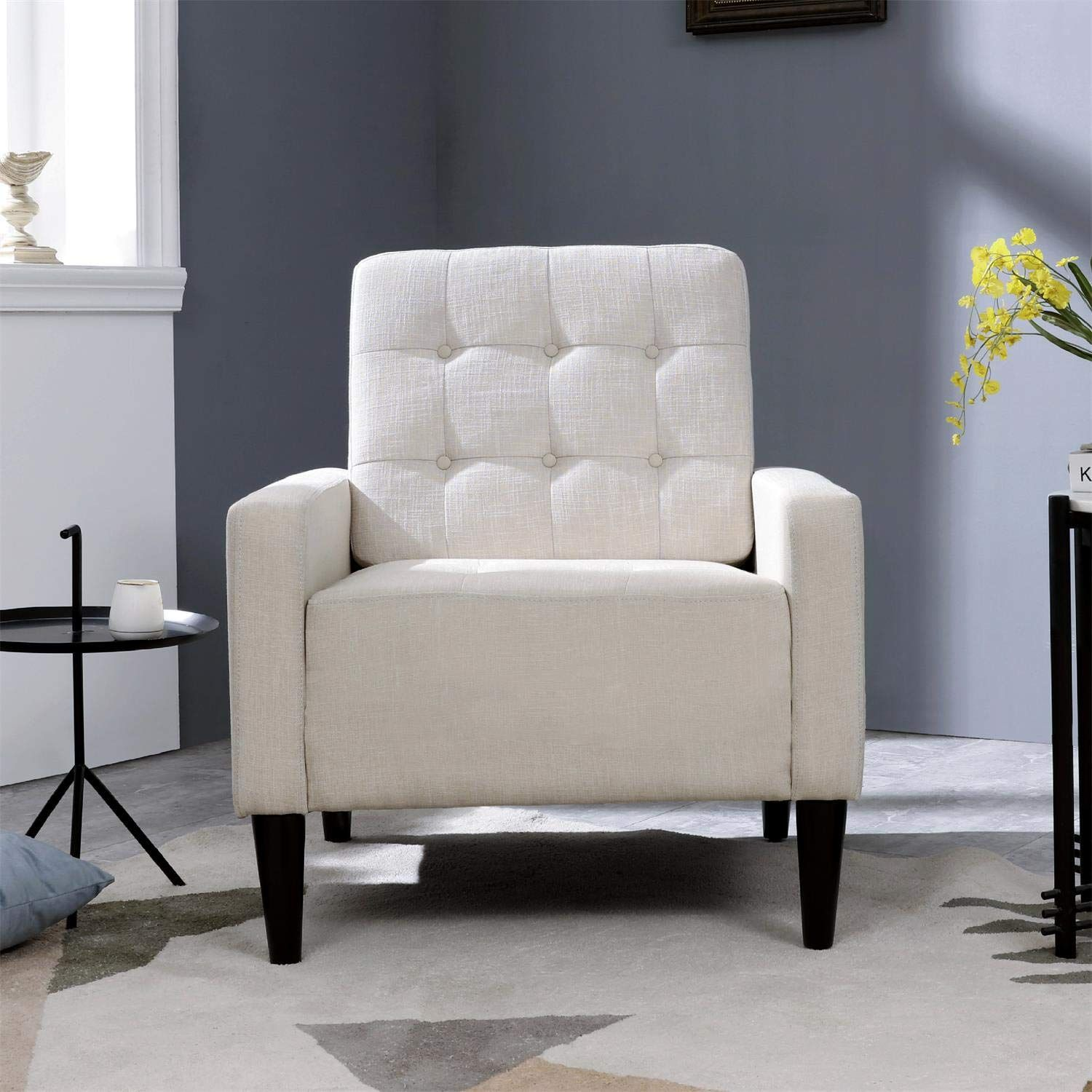 Top Space Accent Chair Living Room Chairs Arm Chair Single